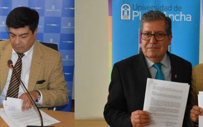 UPLA Y ULAGOS FIRMAN CONVENIO QUE POTENCIARÁ LA TELEVISIÓN UNIVERSITARIA REGIONAL