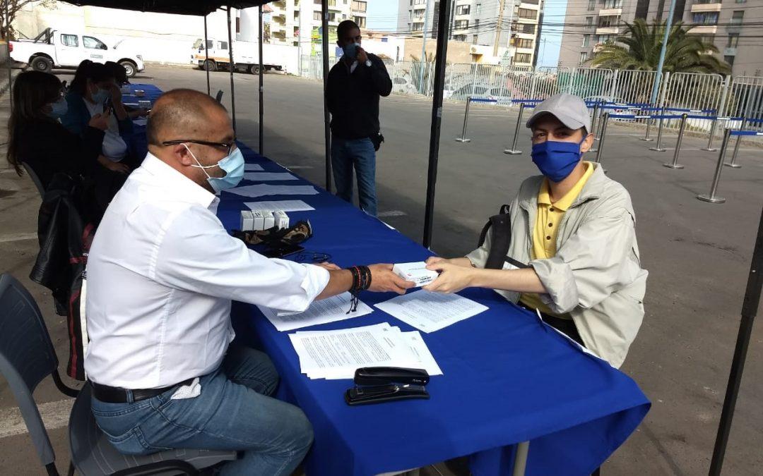 Universidad de Antofagasta entrega 483 chips de banda ancha a estudiantes para clases online