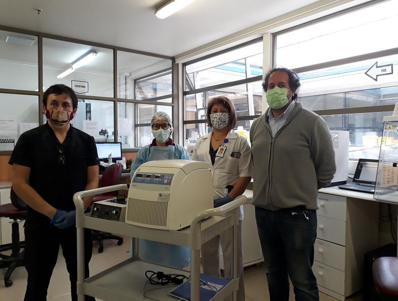ULagos facilita equipos al Hospital Base para disminuir tiempos de respuesta a Covid 19 en la provincia