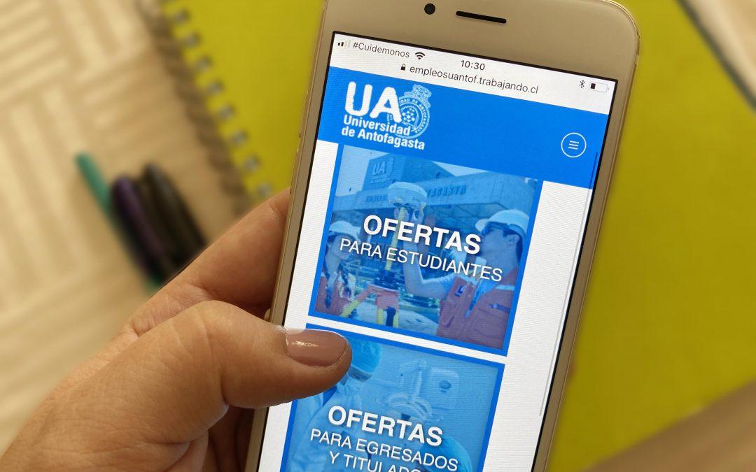 Universidad de Antofagasta lanza Portal de Empleabilidad para sus titulados y graduados