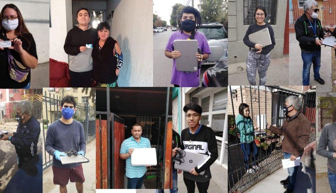 Cerca de dos mil 800 estudiantes UTEM recibieron beneficio de conectividad