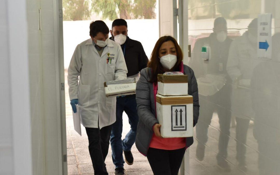 Laboratorio de Biología Molecular UDA analiza cerca de 300 exámenes COVID-19 provenientes de Antofagasta