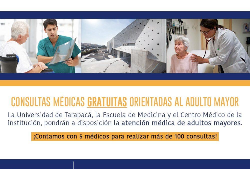 Dispositivo permitirá atención de medicina general para adultos mayores de forma gratuita.