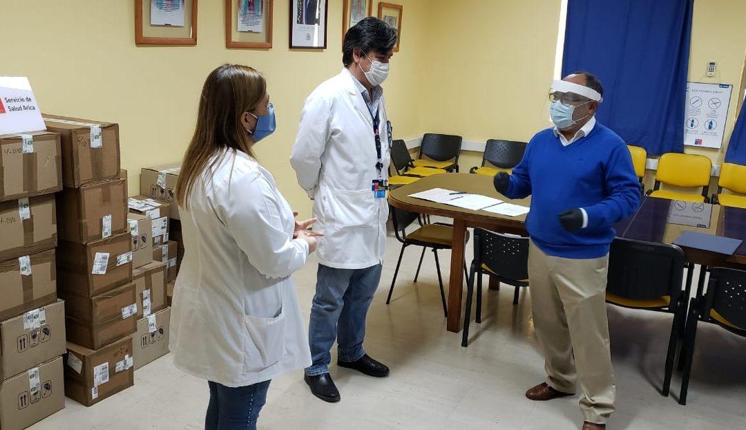 UTA dona insumos e instrumentos para apoyar el desarrollo de la técnica PCR en el laboratorio del Hospital Regional Dr. Juan Noé Crevani
