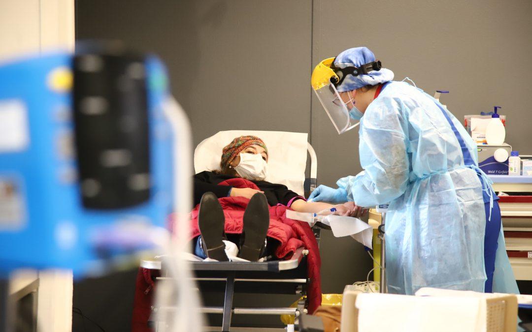 Universidad de O'Higgins facilita dependencias al Hospital Regional para donación de sangre