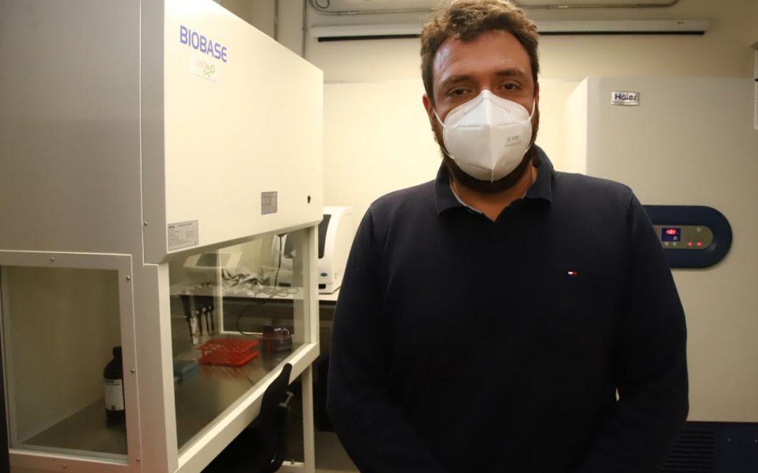 Este lunes laboratorio UOH comienza el análisis de muestras PCR para detectar COVID-19