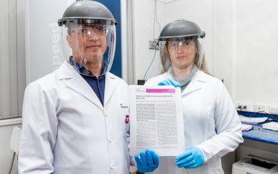 Prestigiosa revista científica internacional publica investigación chilena que desarrolló test de Coronavirus más barato y rápido que el PCR