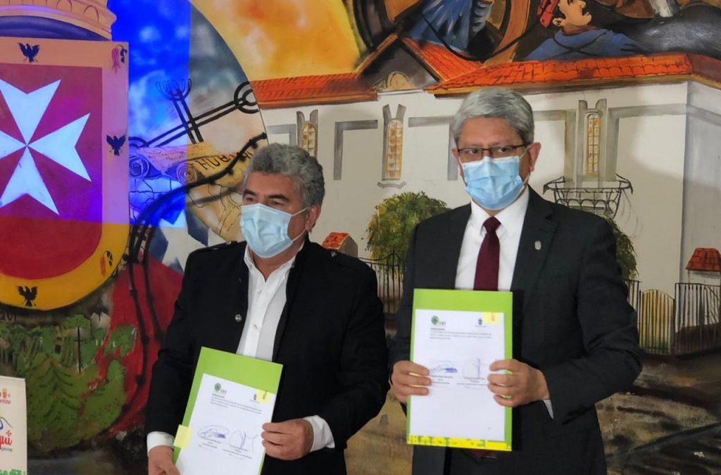 UBB Firmó convenio de colaboración para preservar la biodiversidad del Territorio Nonguén