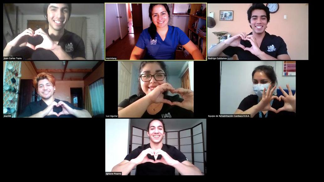 Estudiantes de Kinesiología UA realizan Tele-Rehabilitación a pacientes del Hospital Regional de Antofagasta