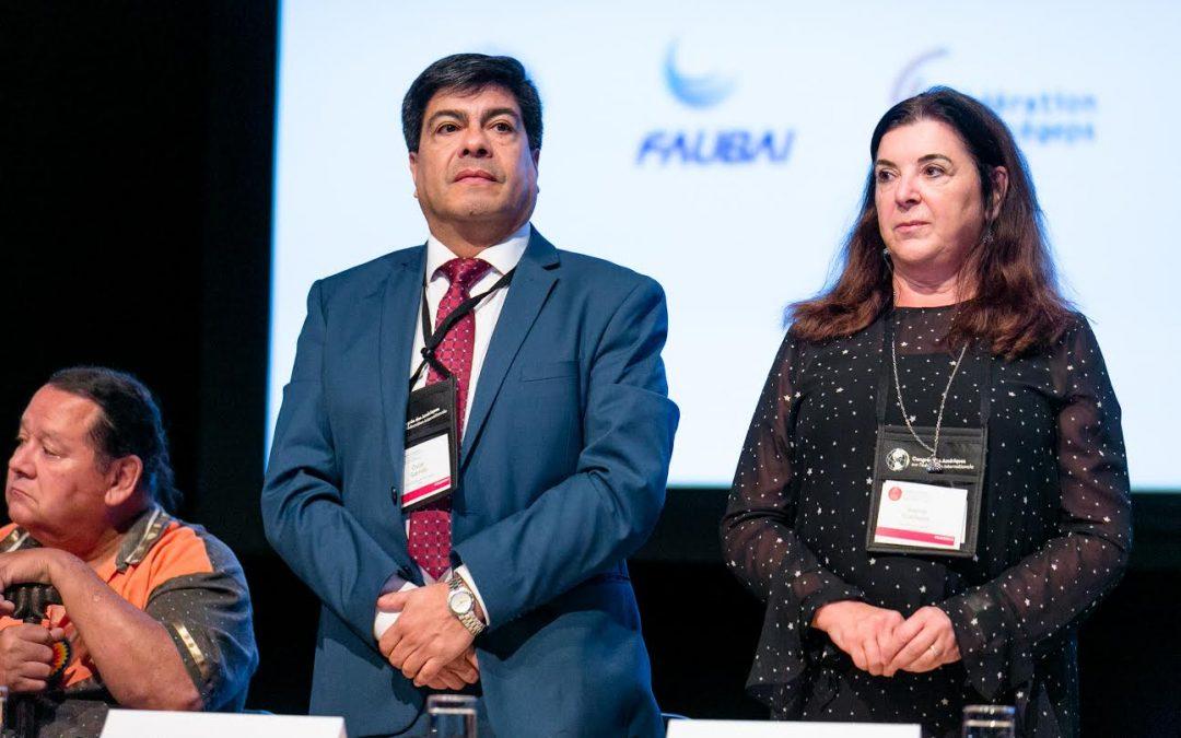Rector ULagos preside encuentro virtual por los 40 años de la Organización Universitaria Interamericana