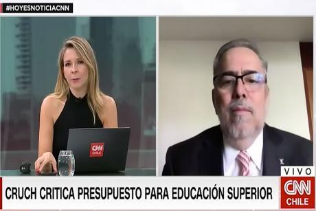 """Rector Zolezzi advierte que reducción del presupuesto para Educación Superior sería un """"duro golpe"""" para las universidades"""