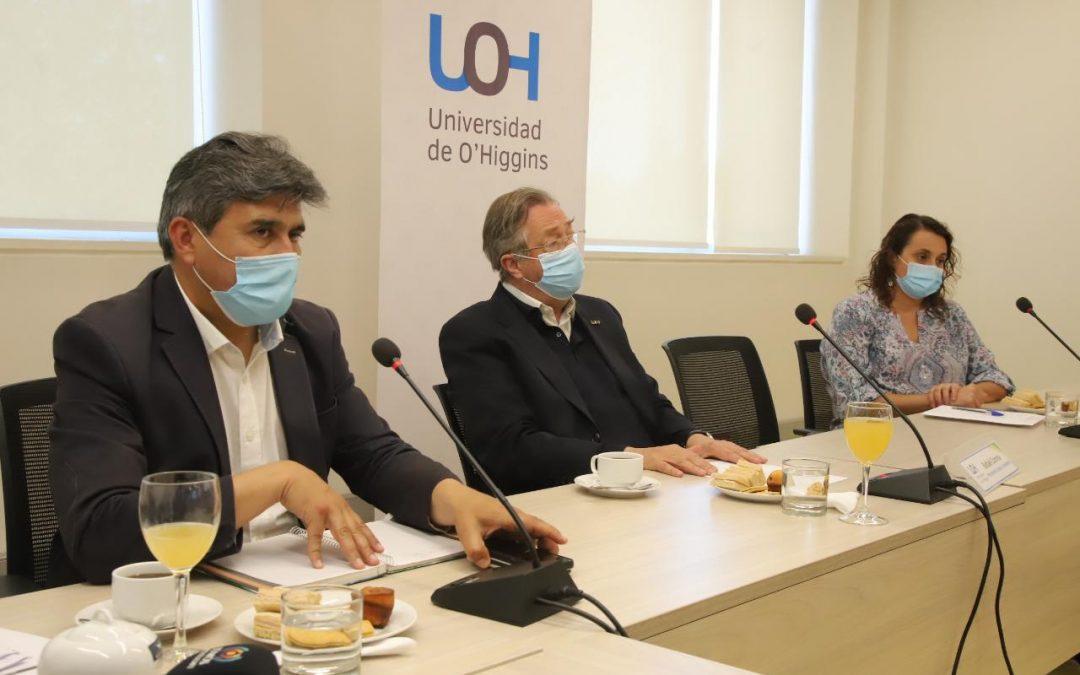Universidad de O'Higgins realizó reunión consultiva con organizaciones de Pichilemu por nuevo CFT Estatal