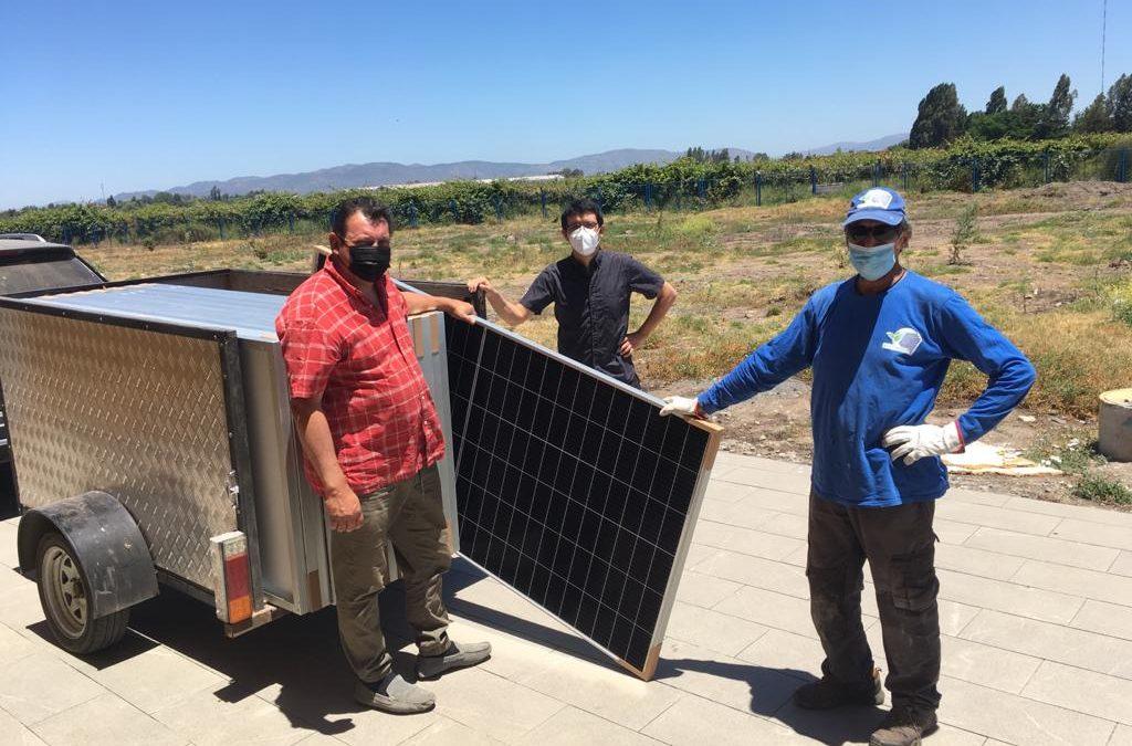 UTalca construye planta solar fotovoltaica en la Facultad de Ingeniería