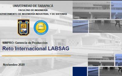 """Alumnos de la Carrera de Ingeniería Civil Industrial de la UTA ganan concurso """"Reto Internacional para Estudiantes"""" que organiza LABSAG"""