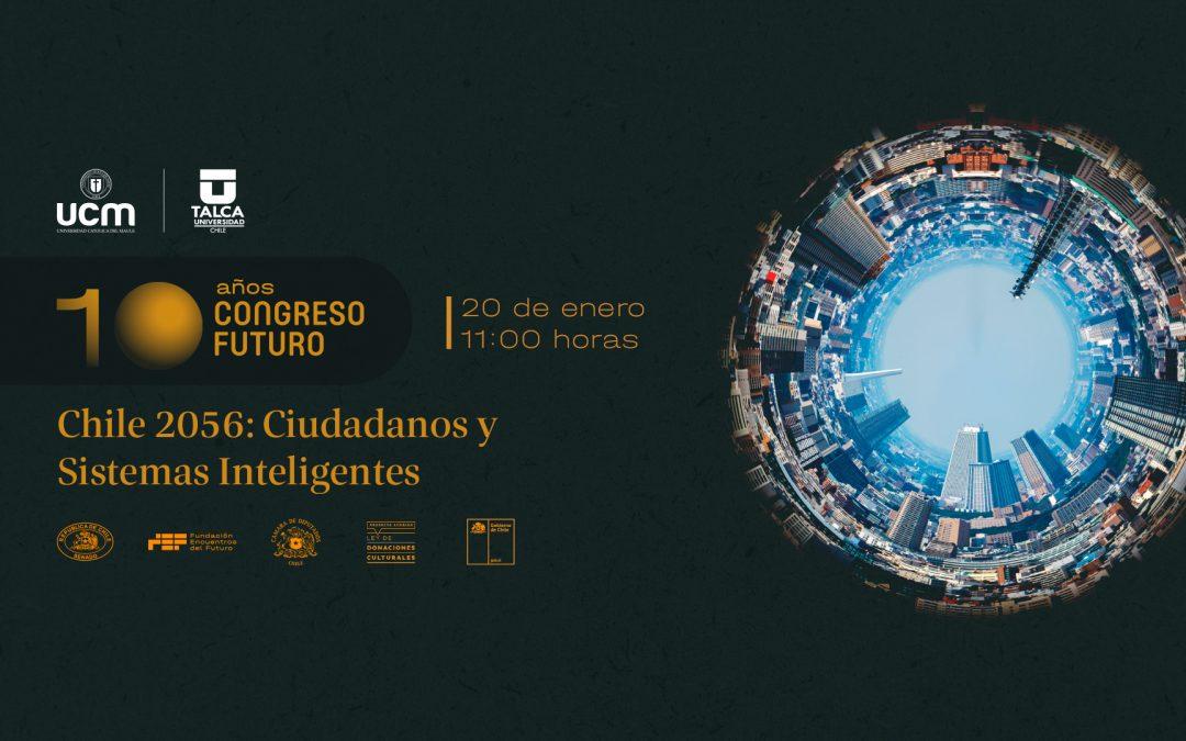 """Invitan al Congreso Futuro 2021 en el Maule «Chile 2056: Ciudadanos y Sistemas Inteligentes"""""""