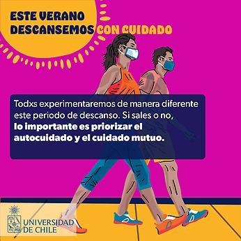 U. de Chile lanza campaña de autocuidado de la salud mental para el periodo de vacaciones
