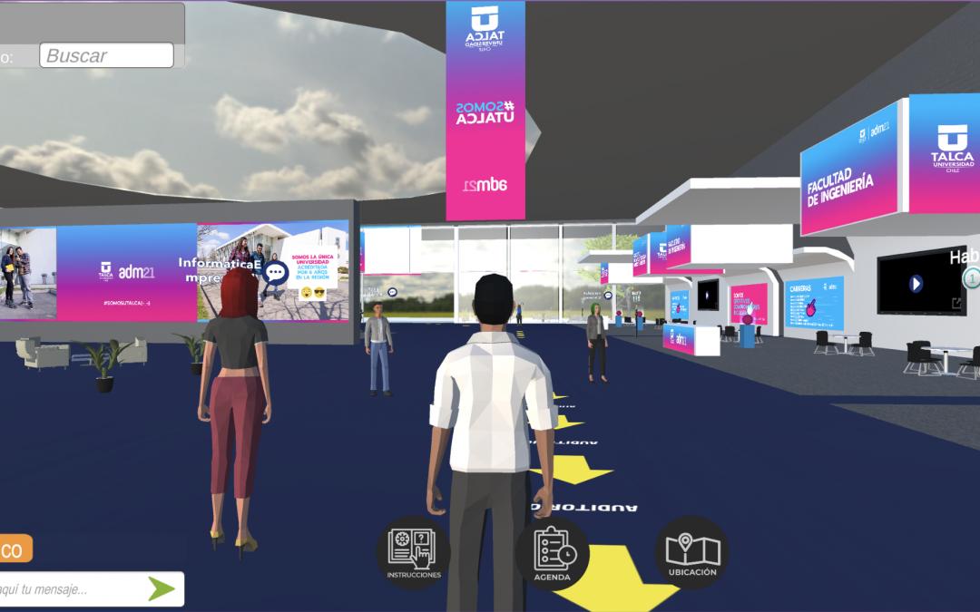 Feria virtual en 3D organizada por la UTalca tuvo activa participación