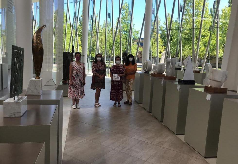 Autoridades de la Universidad de O´Higgins visitan espacios culturales de la UTalca considerados referentes a nivel nacional