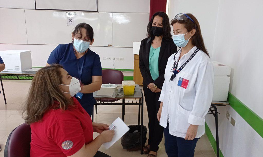 Más de 9 mil personas vacunadas contra el Covid-19 en el Campus Fernando May UBB
