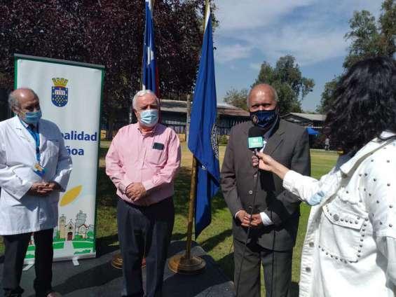 Campus Joaquín Cabezas UMCE se convierte en local de vacunación contra el COVID 19 para vecinos/as de Ñuñoa