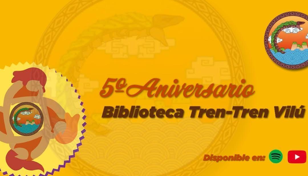 Biblioteca Tren Tren Vilú de la UTEM cumplió cinco años