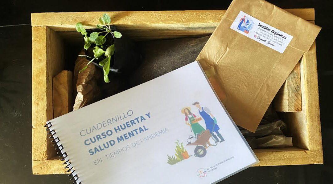 Curso de Huerta y Salud Mental de la UTEM en tiempos de pandemia finalizó con entrega de kit de autocultivo