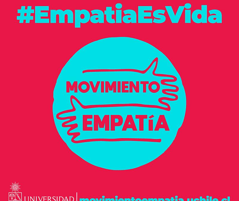 Movimiento Empatía: U. de Chile lanza campaña destinada a promover la vacunación y el cuidado comunitario de la salud