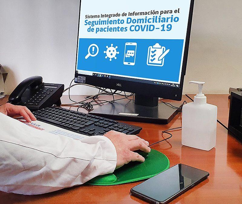 Sistema disminuye en 60 por ciento el tiempo que personal de salud destina a monitoreo de pacientes COVID