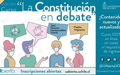 «La Constitución en debate» y «Vacunas en tiempos de COVID-19»: Los cursos de UAbierta para junio y julio
