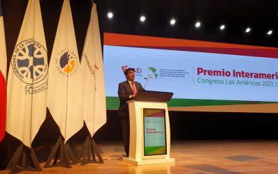 Con un 90% de respaldo, rector Óscar Garrido fue reelecto para presidir la Organización Universitaria Interamericana